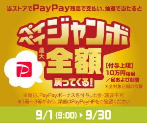 PayPayジャンボ開催中